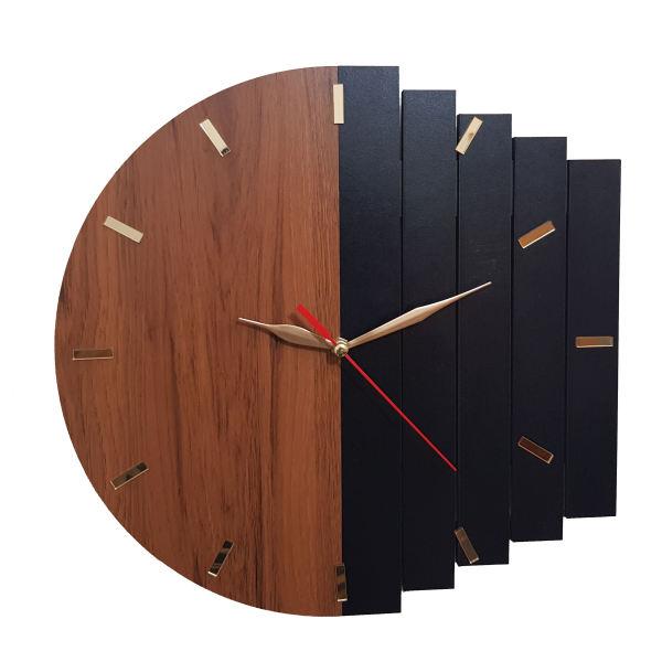 ساعت دیواری مدل روستیک کد CW33