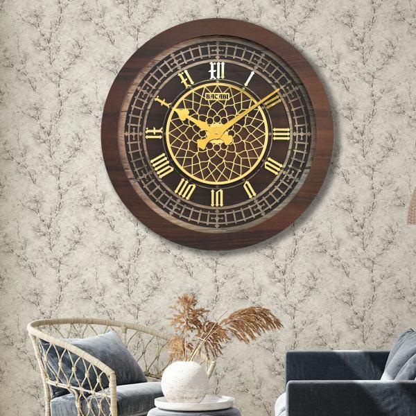 ساعت دیواری بتابی مدل بیگ بن کد 1088