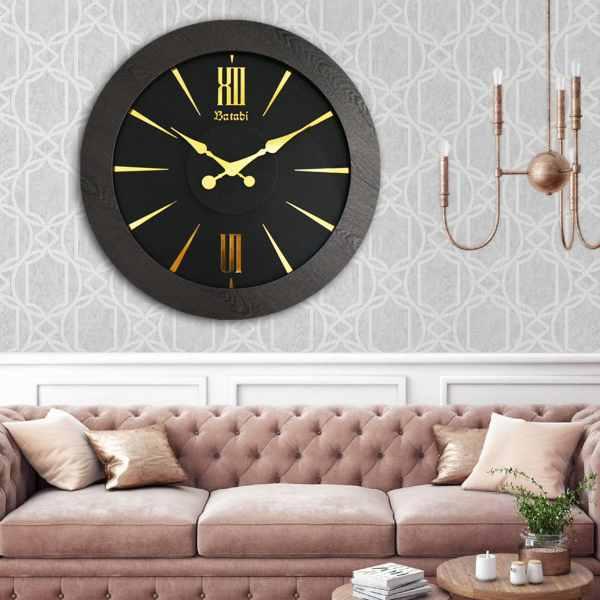 ساعت دیواری بتابی مدل سریرا کد 1079